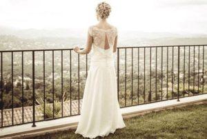 Publicité robe de mariée